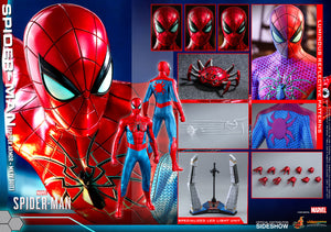 "HOT TOYS 1:6 SPIDER-MAN SPIDER ARMOR MK IV SUIT ""PRE-ORDER Q2 2021 APPROX"""