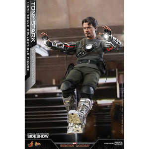"HOT TOYS MARVEL 1:6 TONY STARK MECH TEST VERSION ""PRE-ORDER Q1 2022 APPROX"""