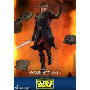 "HOT TOYS STAR WARS THE CLONE WARS 1:6 ANAKIN SKYWALKER ""PRE-ORDER Q1 2022 APPROX"""