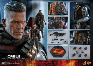 "HOT TOYS DEADPOOL 2 1:6 CABLE ""PRE-ORDER Q1 2022 APPROX"""