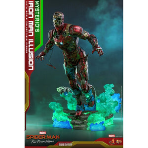 "HOT TOYS MARVEL SPIDER-MAN: FAR FROM HOME 1:6 MYSTERIO'S IRON MAN ILLUSION ""PRE-ORDER Q2 2022 APPROX"""