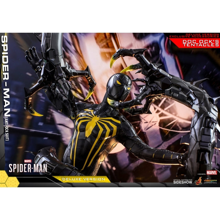 "HOT TOYS MARVEL 1:6 SPIDER-MAN ANTI-OCK SUIT - DELUXE VERSION ""PRE-ORDER Q1 2022 APPROX"""