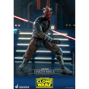 "HOT TOYS STAR WARS: THE CLONE WARS 1:6 DARTH MAUL ""PRE-ORDER Q4 2021 APPROX"""