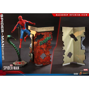"HOT TOYS MARVEL 1:6 SPIDER-MAN CLASSIC SUIT VERSION ""PRE-ORDER Q1 2022 APPROX"""