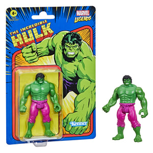 "MARVEL LEGENDS KENNER HULK RETRO COLLECTION 3.75"" ACTION FIGURE"