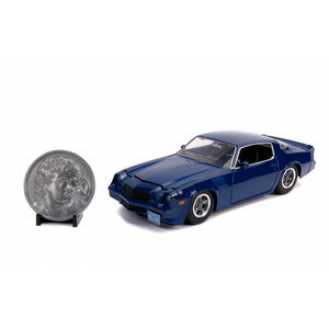 "STRANGER THINGS 1:24 CHEVY CAMARO WITH COLLECTORS COIN ""PRE ORDER AUG/SEP 2019"""