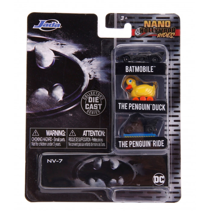 "BATMAN NANO 3 CAR SET ""PRE-ORDER Q2 2020 APPROX"""