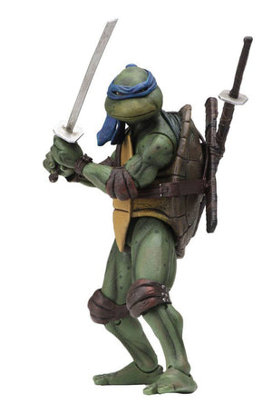 "TEENAGE MUTANT NINJA TURTLES 1990 MOVIE LEONARDO ACTION FIGURE ""PRE ORDER JUNE 2020 APPROX"""