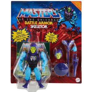 "MASTERS OF THE UNIVERSE ORIGINS BATTLE ARMOR SKELETOR 14CM ACTION FIGURE ""PRE-ORDER MAY/JUN 2021 APPROX"""
