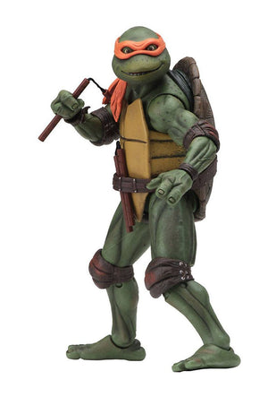 TEENAGE MUTANT NINJA TURTLES 1990 MOVIE SET OF 4 ACTION FIGURES