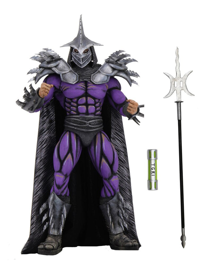 "TEENAGE MUTANT NINJA TURTLES 1990 MOVIE DELUXE SUPER SHREDDER 7 INCH SCALE ACTION FIGURE ""PRE-ORDER DEC 20/JAN 21 APPROX"""