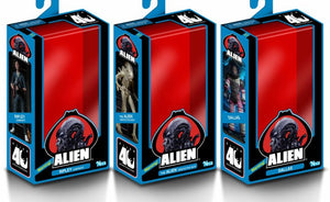 ALIEN 40TH ANNIVERSARY 7 INCH SCALE ACTION FIGURES SERIES 1 SET OF 3