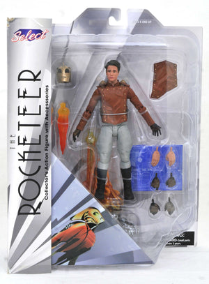 DISNEY SELECT CLASSIC SERIES 1 THE ROCKETEER ACTION FIGURE