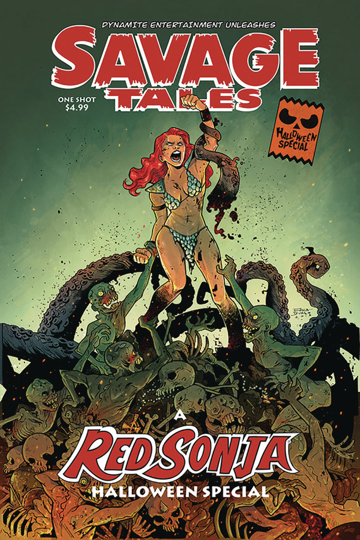SAVAGE TALES HALLOWEEN SPECIAL ONE SHOT #0 CVR A DURSO