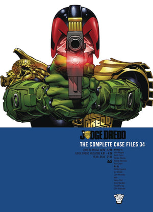 JUDGE DREDD COMP CASE FILES TP VOL 34