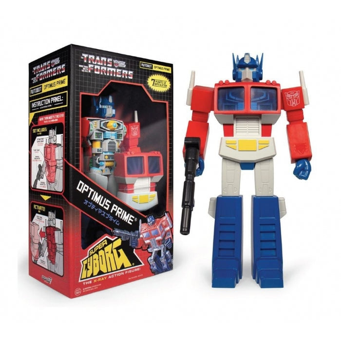 "TRANSFORMERS SUPER CYBORG - OPTIMUS PRIME ""PRE-ORDER AUG 2020 APPROX"""