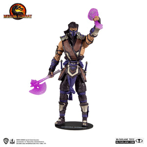 "MORTAL KOMBAT SUB-ZERO (WINTER PURPLE SKIN) 7"" ACTION FIGURE"