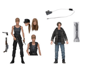 TERMINATOR 2 SARAH CONNOR AND JOHN CONNOR 2-PACK 7 INCH SCALE ACTION FIGURES