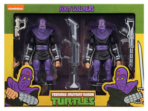TEENAGE MUTANT NINJA TURTLES FOOT SOLDIER ARMY BUILDER 2 PACK