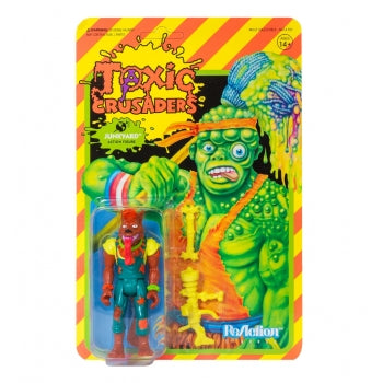 "TOXIC CRUSADERS JUNKYARD 3.75"" REACTION ACTION FIGURE"