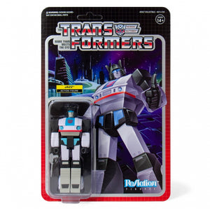 TRANSFORMERS JAZZ REACTION 10CM ACTION FIGURE
