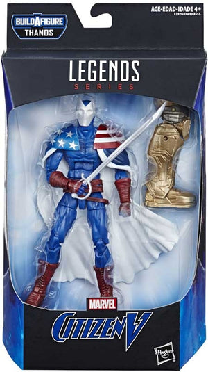 "MARVEL LEGENDS CITIZEN V 6"" ACTION FIGURE ""PRE ORDER MAY 2019"""