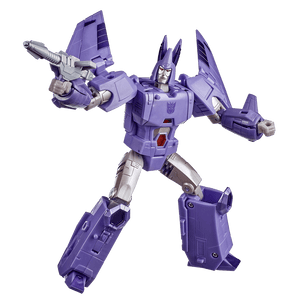 TRANSFORMERS GENERATIONS WAR FOR CYBERTRON KINGDOM CYCLONUS ACTION FIGURE.