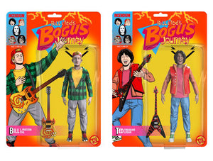 "BILL & TED'S BOGUS JOURNEY ACTION FIGURES ""PRE-ORDER NOV/DEC 2020 APPROX"""