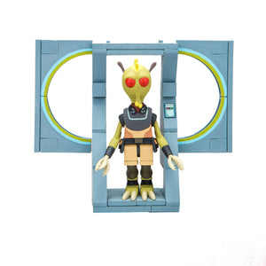 Rick and Morty Micro Construction Set Wave 1 The Discreet Assassin