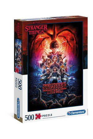 STRANGER THINGS SEASON 2 JIGSAW PUZZLE (500 PIECES)