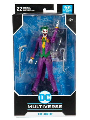 "DC MULTIVERSE BATMAN: REBIRTH THE JOKER 7"" ACTION FIGURE"