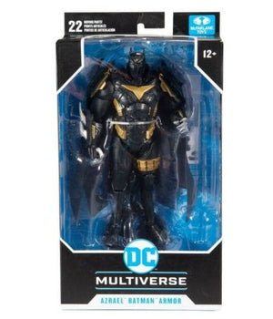 "DC MULTIVERSE REBIRTH AZREAL IN BATMAN ARMOUR AZBAT 7"" ACTION FIGURE"