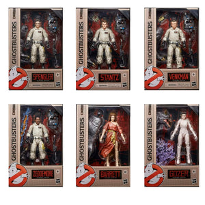 "GHOSTBUSTERS PLASMA SERIES WAVE 1 FULL SET OF 6 ACTION FIGURES ""PRE-ORDER MAR 2021 APPROX"""