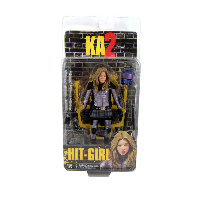 KICK ASS 2 HIT-GIRL UNMASKED SIX INCH ACTION FIGURE