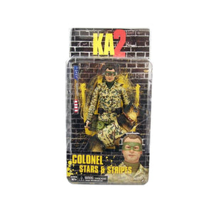 KICK ASS 2 COLONEL STARS & STRIPES SIX INCH ACTON FIGURE