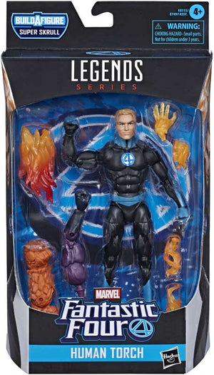 "MARVEL LEGENDS FANTASTIC FOUR HUMAN TORCH 6"" ACTION FIGURE"