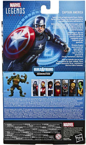 "MARVEL LEGENDS GAMERVERSE CAPTAIN AMERICA 6"" ACTION FIGURE"