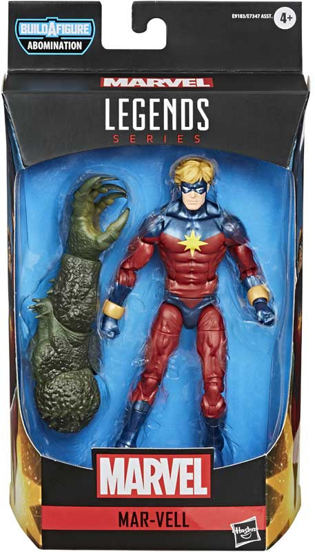 "MARVEL LEGENDS MAR-VELL 6"" ACTION FIGURE"