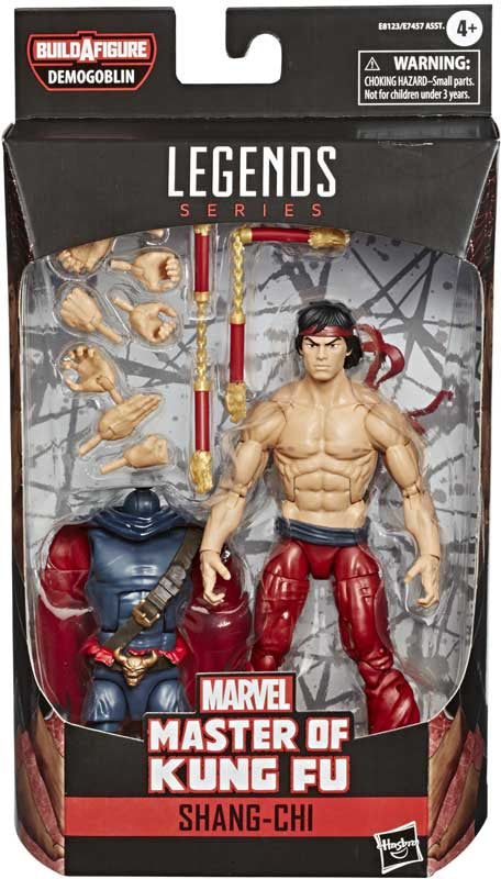 "MARVEL LEGENDS SERIES SHANG-CHI MASTER OF KUNG FU 6"" ACTION FIGURE"