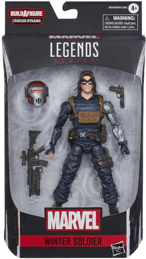"MARVEL LEGENDS WINTER SOLDIER 6"" ACTION FIGURE"