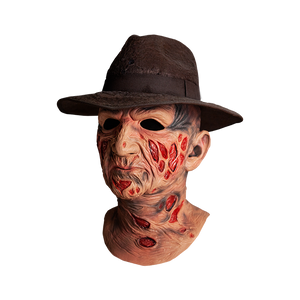 A NIGHTMARE ON ELM STREET DELUXE FREDDY MASK WITH HAT