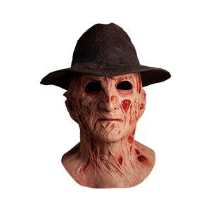 "A NIGHTMARE ON ELM STREET 4: THE DREAM MASTER DELUXE FREDDY MASK WITH HAT ""PRE ORDER Q1 2020"""
