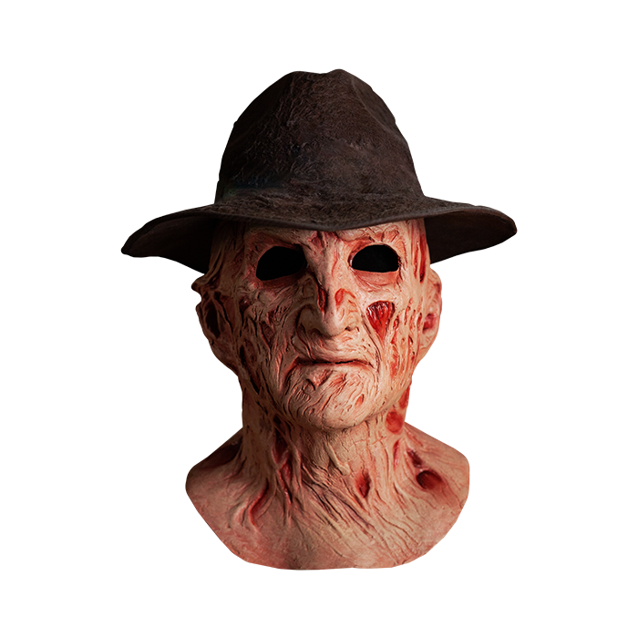 A NIGHTMARE ON ELM STREET 4: THE DREAM MASTER DELUXE FREDDY MASK WITH HAT