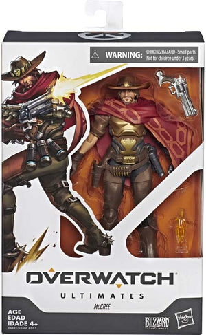 "OVERWATCH ULTIMATES McCREE 6"" ACTION FIGURE"