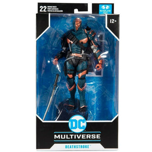 "DC MULTIVERSE BATMAN: ARKHAM ORIGINS DEATHSTROKE 7"" ACTION FIGURE"