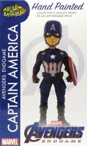 MARVEL AVENGERS ENDGAME CAPTAIN AMERICA HEAD KNOCKER