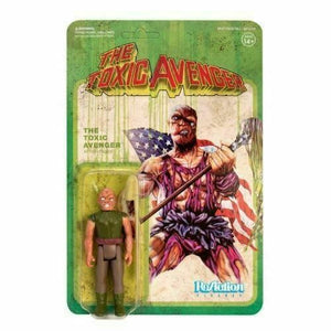 REACTION THE TOXIC AVENGER 3.75 INCH ACTON FIGURE