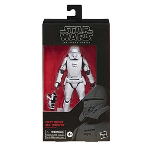 "STAR WARS THE BLACK SERIES FIRST ORDER JET TROOPER 6"" ACTION FIGURE"