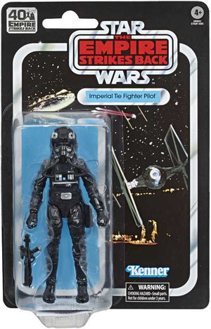 "STAR WARS THE EMPIRE STRIKES BACK 40TH ANNIVERSARY IMPERIAL TIE FIGHTER PILOT 6"" ACTION FIGURE"