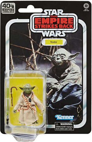 "STAR WARS THE EMPIRE STRIKES BACK 40TH ANNIVERSARY YODA 6"" ACTION FIGURE"
